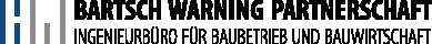 Bartsch Warning Logo