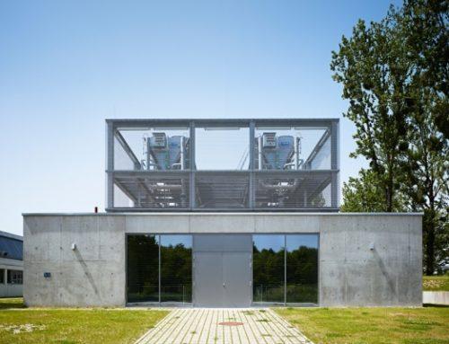Max-Planck-Institut für Biochemie und Neurobiologie Martinsried, Neubau Kälte- und Notstromzentrale