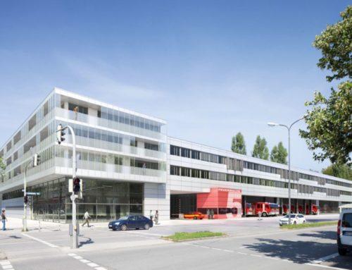 Landeshauptstadt München, Neubau der Feuerwache 5
