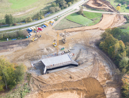 Neubau der Geh- und Radwegunterführung mit Wildquerung im Rahmen der Ortsumfahrung Vilshofen