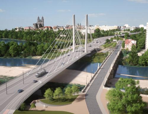 Ersatzneubau Strombrückenzug Magdeburg