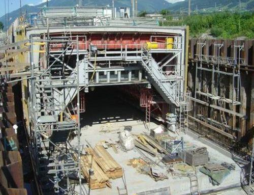Tunnel Fritzens, Hauptbaumaßnahme H7, Eisenbahnachse Brenner
