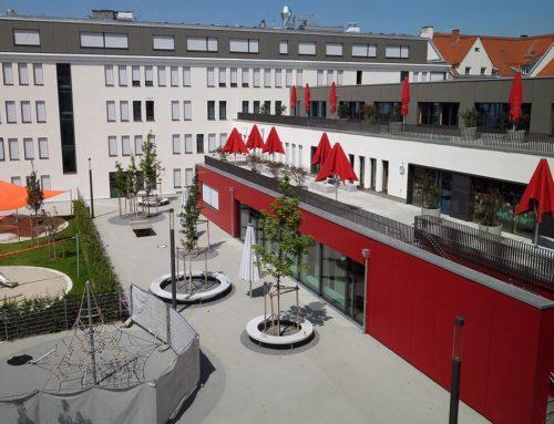Neubau Schulkomplex an der Meindlstraße 8