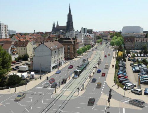 Neubau Straßenbahnlinie 2, Ulm – Kuhberg