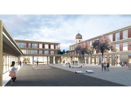Realschule an der Blutenburg und Grundschule Grandlstraße, Neubau, Umbau und Erweiterung