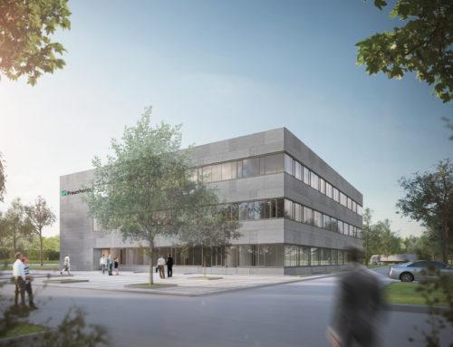 Neubau Fraunhofer IWKS, Hanau