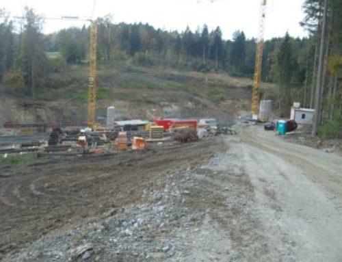 B533, Ostumgehung Schwarzach, Neubau der Brücke über den Lutzmanngraben, BW 2/2